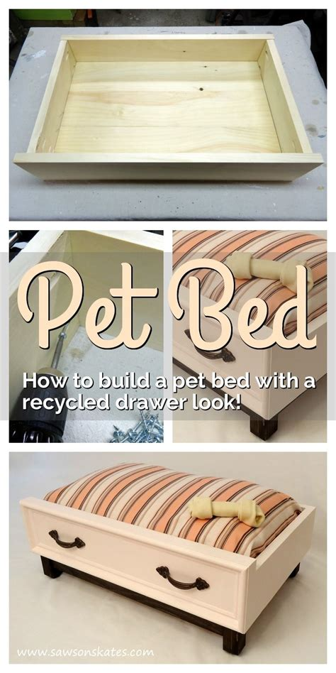 diy hundebett how to make a diy bed with a recycled drawer look