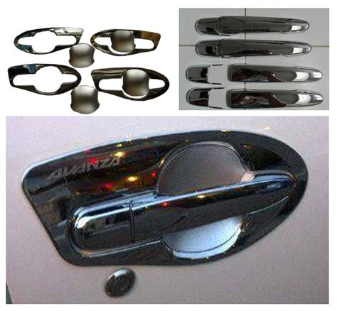 Outer Handle Mangkok Rumah Handle Pintu Chrome All New Jazz jual paket outer handle all new avanza xenia citra kencana