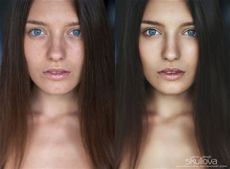 dodge and burn photography portrait retouch dodge and burn by lienskullova on