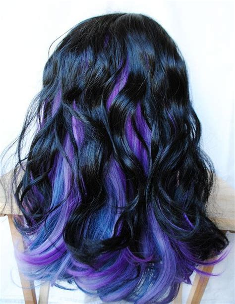 Black N Purple Hair | the gallery for gt black blue and purple hair