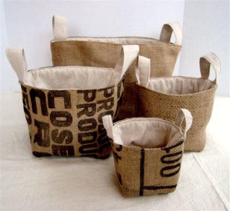 hessian tote bag pattern nesting burlap bucket pattern bags maya and buckets