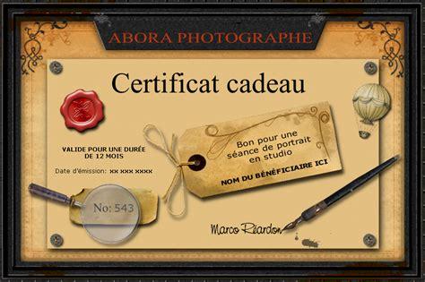 modele certificat cadeau imprimer gratuit document online