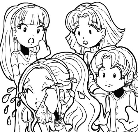 free nikki in dork diaries coloring pages