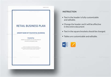 apple pages business plan template 28 images 17 best