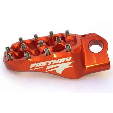 Ktm Footpegs Fastway Evolotion Air Footpegs Ktm Aomc Mx