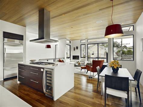 cuisine ouverte ilot central cuisine ouverte sur salon une solution pour tous les espaces