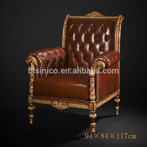 Kursi Sofa Retro Single Seat noble chesterfield one seat sofa vintage button tufted upholstered leather sofa chair imperial