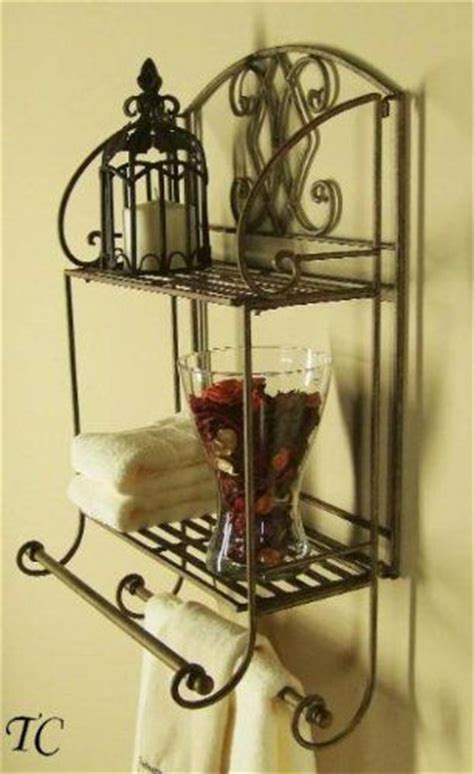 awesome towels and wrought iron on