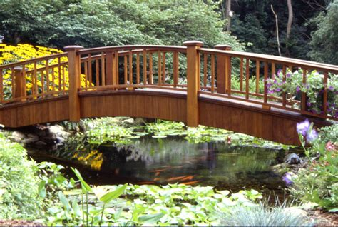 landscaping bridge aquascape your landscape bridge over un troubled waters