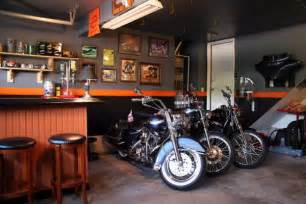 Garage Storage Ideas For Motorcycles Motorcycle Garages Park Your Ride In Style At