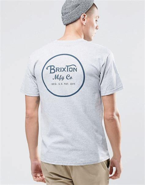 Kaos T Shirt Brixton Supply 1 brixton brixton t shirt with back logo