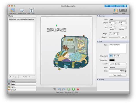 design photo maker picture collage maker lite for mac download