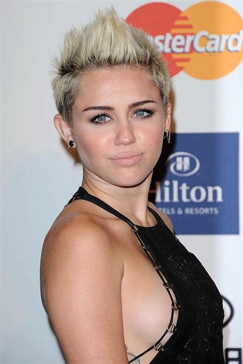 miley cyrus shot hair celebrities myniceprofilecom