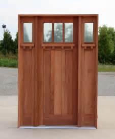 Prehung Interior Door With Casing Craftsman Doors Exterior Mahogany Craftsman Doors 8