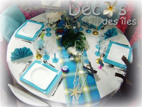 decoration table decoration table theme madras turquoise