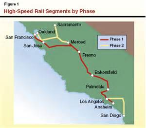 california bullet map high speed rail is at a critical juncture