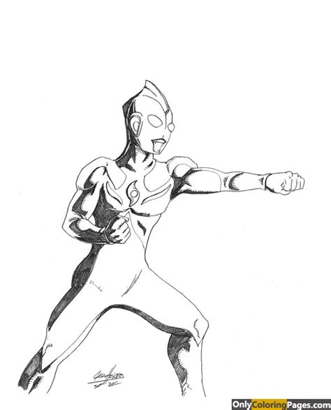 ultraman coloring pages printable ultraman cosmos coloring pages free printable online