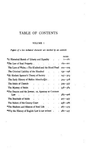 Bookspace Collected Essays On Libraries by The Collected Papers Of Frederic William Maitland Vol 1 Library Of Liberty