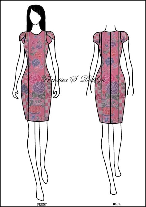 Es Span Dress meer dan 1000 idee 235 n modern batik dress op