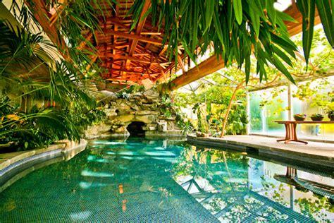 Hidden Backyard Pool Tropical Paradise Resort House Inground Pool Hidden
