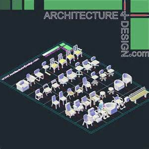 Free 3d Bathroom Design Software autocad 3d furniture models dwg file architecture for