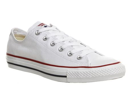 Converse All Low White converse all low white canvas unisex sports
