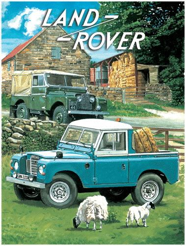 vintage land rover ad vintage land rover ad available through brilliantly