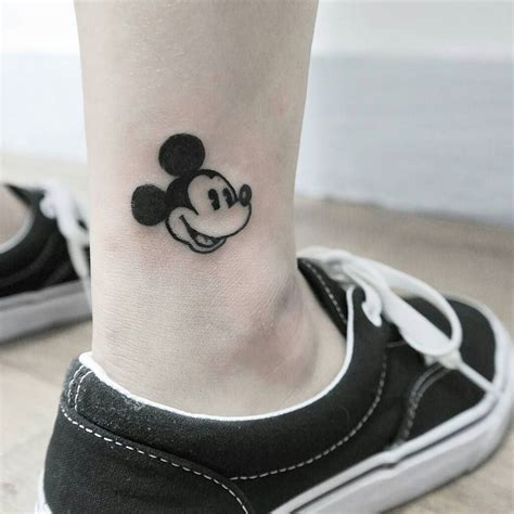 mouse tattoo 40 classic mickey and minnie mouse tattoos a way to