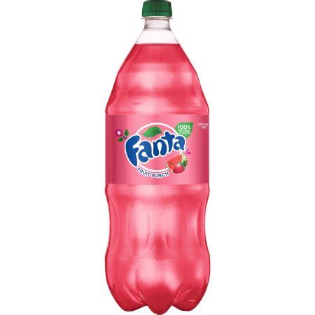 fruit punch soda fanta fruit punch soda 2l bottle walmart