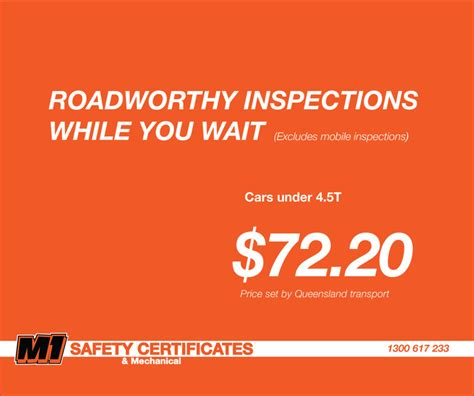 While You Wait 3 by M1 Safety Certificates Mechanical In Arundel Qld