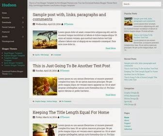 themes of literature by hudson hudson minimal my blogger themes