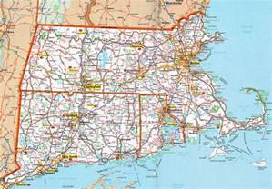 Massachusetts Road Map by Hognews Com State Pages Connecticut