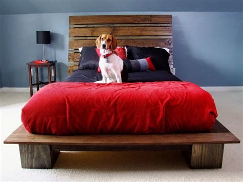 Build A Bed Frame And Headboard How To Build A Modern Style Platform Bed How Tos Diy