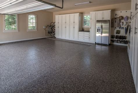 Epoxy Garage Flooring by The Benefits Of Epoxy Garage Floor Coatings All Garage