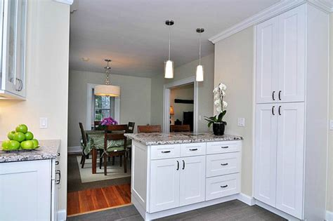 Assembled Kitchen Island by Aspen White Shaker Pre Assembled Kitchen Cabinets