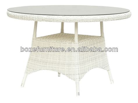 White Wicker Round Dining Table Garden Buy And Dining White Wicker Dining Table And Chairs