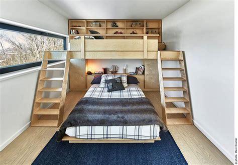 Decoist Bunk Beds Bedroom Of The Ski Chalet With Bunk Beds Decoist