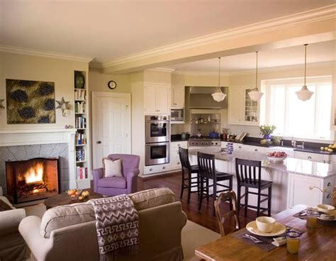 Open Kitchen And Living Room by Open Concept Kitchen Living Room Design Ideas