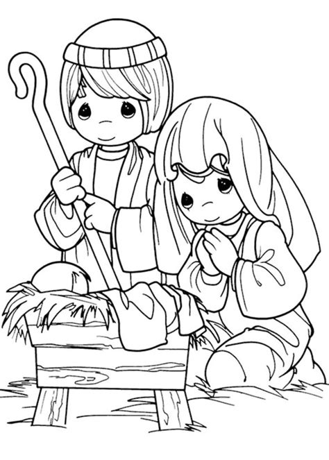 coloring pages precious moments jesus loves me 21 disegni del presepe da colorare pianetabambini it