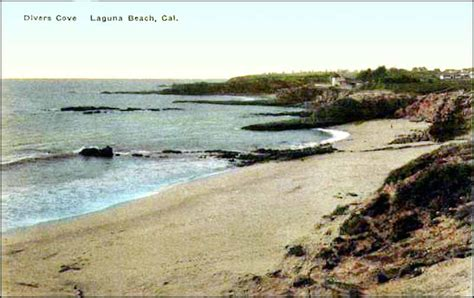 Laguna Headed To by Divers Cove Early 1900 S