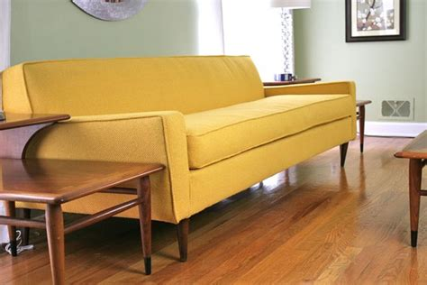 the yellow sofa yellow sofa is in the house whipstitch