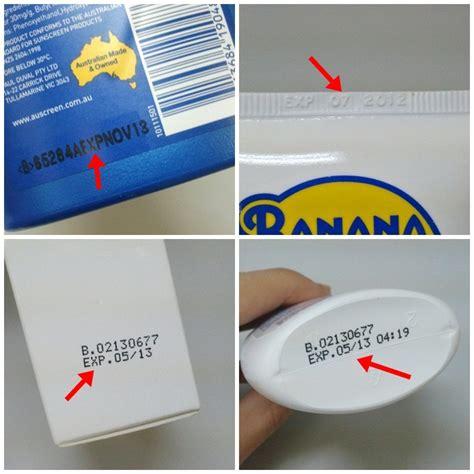 banana boat sunscreen date code sunscreen unc healthy heels