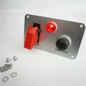 racing race car 12v ignition engine start switch panel led toggle racer ebay