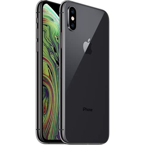 apple iphone xs gb space gray applecover