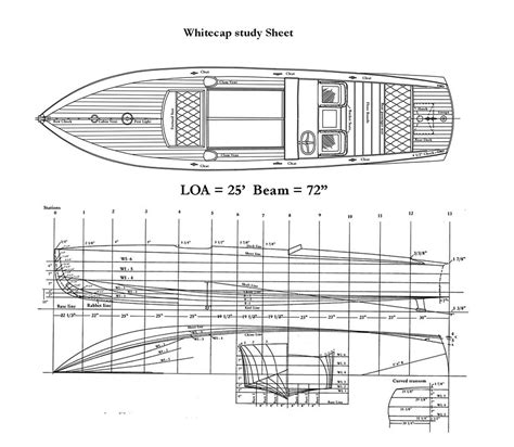 hacker boat plans whitecap runabout boat plans