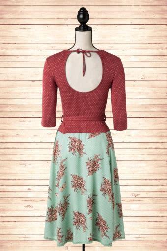 S Zalsah Tunik Maroon Mint 40s total eclipse bouquet dress in maroon and mint