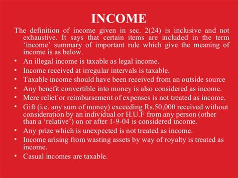 Section 28 Of Income Tax Act 1961 by Explain Income Income Tax Act India