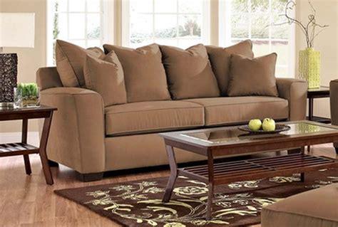 microsuede sofa set klaussner sofa set microsuede chocolate kl