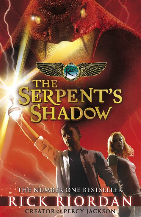 Diskon Novel The Serpent S Shadows Rick Riordan the serpent s shadow the chronicles penguin books