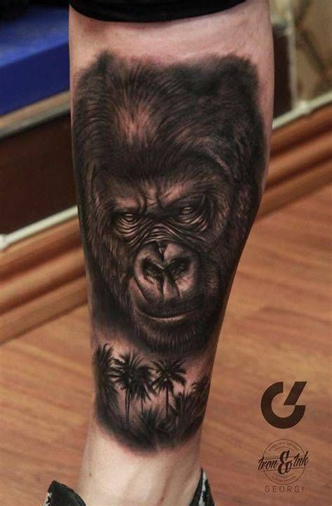 silverback gorilla tattoo 35 best gorilla images on